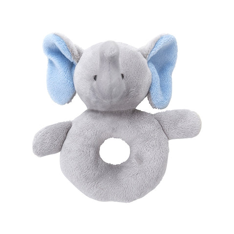 Elephant Oeko Certified Rattle