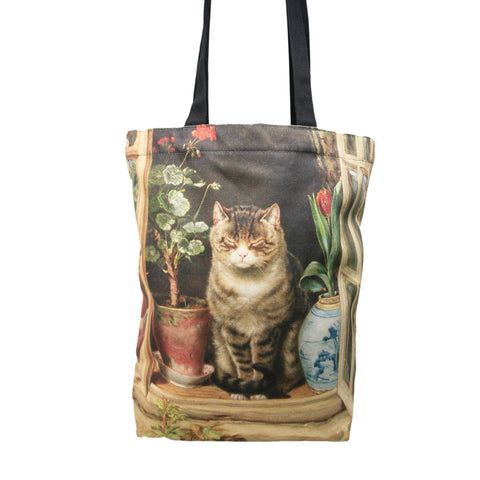 Tote Bag: Hedley, Blinking in the Sun