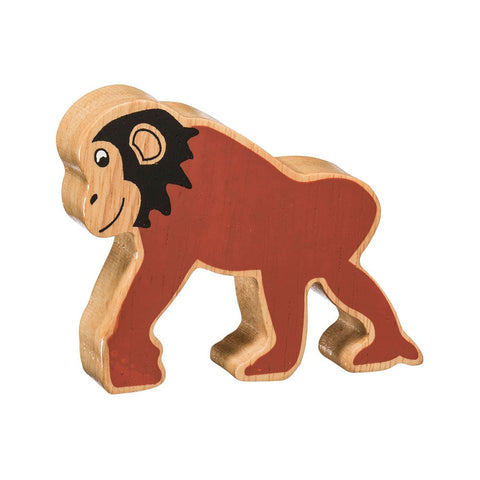 Wooden Toy: Natural Colourful, Chimp