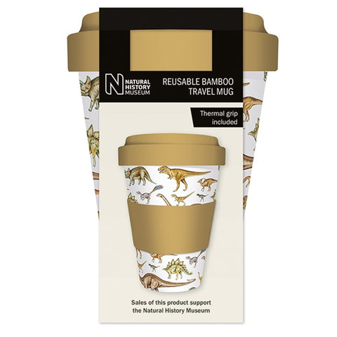 Dinosaurs Bamboo Composite Travel Cup