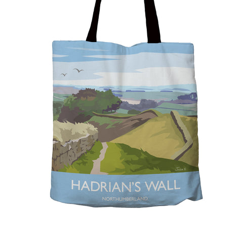 Tote Bag: Julia S, Hadrian's Wall