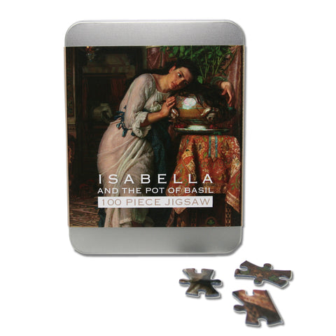 Isabella and the Pot of Basil 100 piece Jigsaw