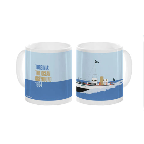 Mug: Turbinia, Ocean Greyhound