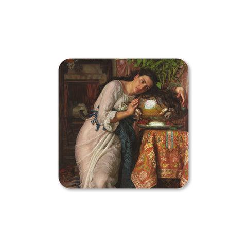 Isabella and the Pot of Basil Coaster