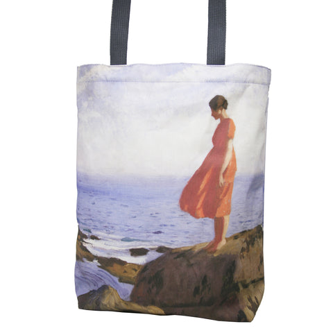 Tote Bag: Laura Knight, A Dark Pool