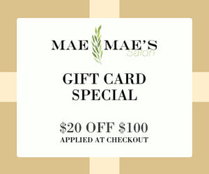 Mae Mae's Gift Card Special