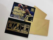 Load image into Gallery viewer, LIMITED EDITION MAYWEATHER 50-0 COLLECTORS T-SHIRT