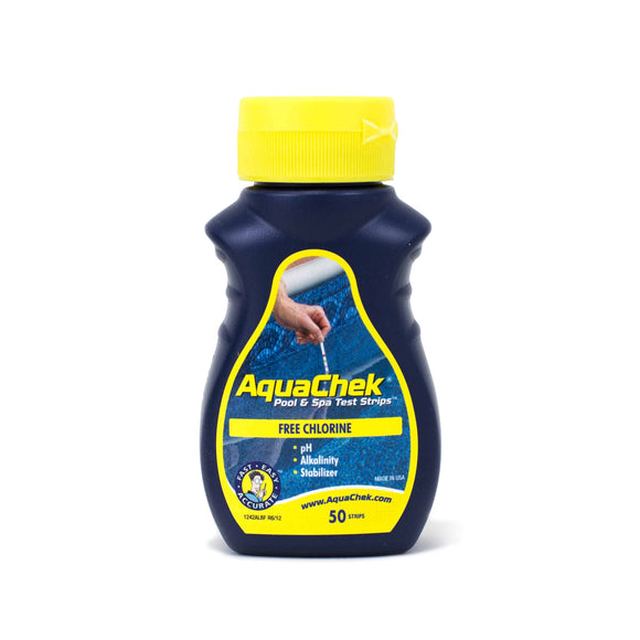 AquaChek Yellow - Test for Free Chlorine 50/pack
