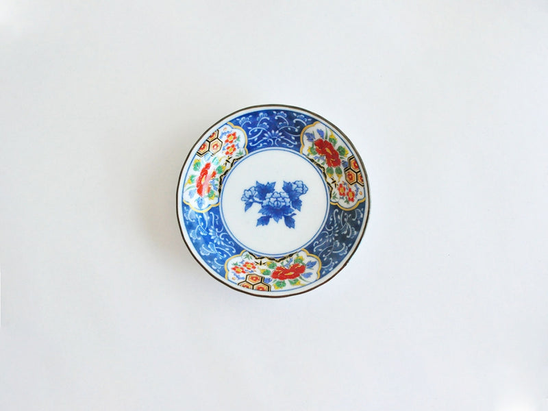Small Plate with Blue Painting | Dead Stock Hasami / Arita ware