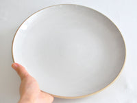 CULTIVATE BOUNOTU CLAY プレート L 27cm  OF WHITE | ONE KILN