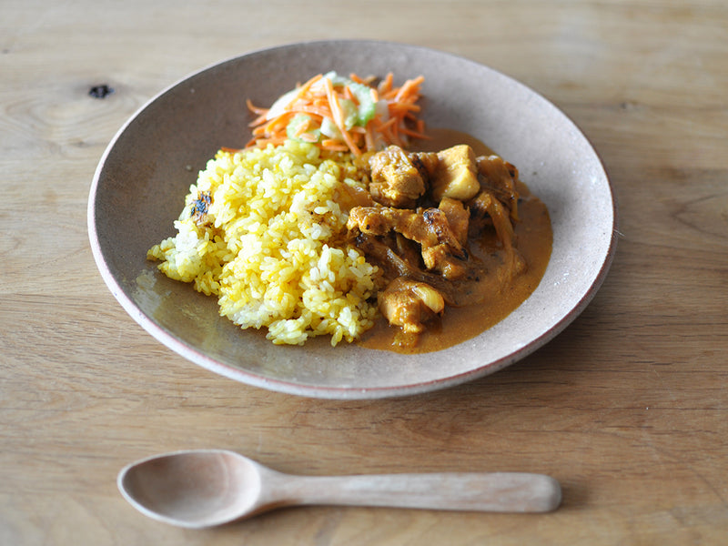 CULTIVATE BOUNOTU CLAY プレート L 27cm  OF CLEAR | ONE KILN