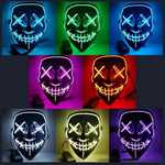 Load image into Gallery viewer, Rave & Halloween Glow Mask