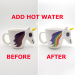 Load image into Gallery viewer, Color Changing Unicorn Mug