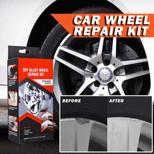 Premium Alloy Wheel Repair Kit - Easy to Use