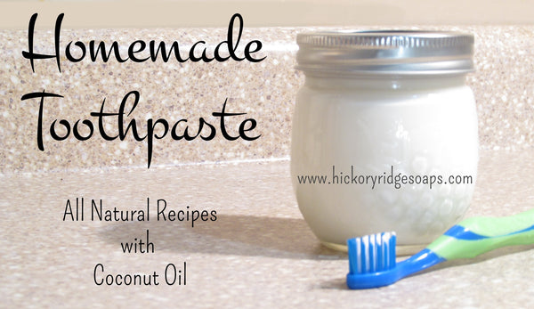 Easy Homemade Natural Toothpaste Recipes with Coconut Oil