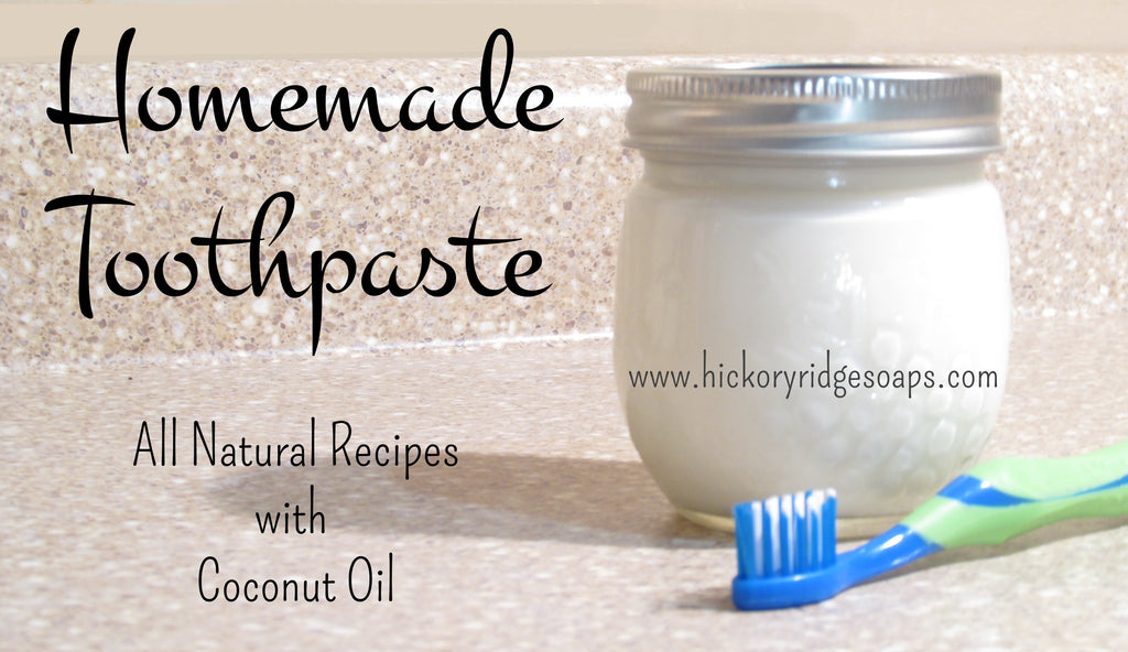 Homemade Toothpaste Recipes with Coconut Oil