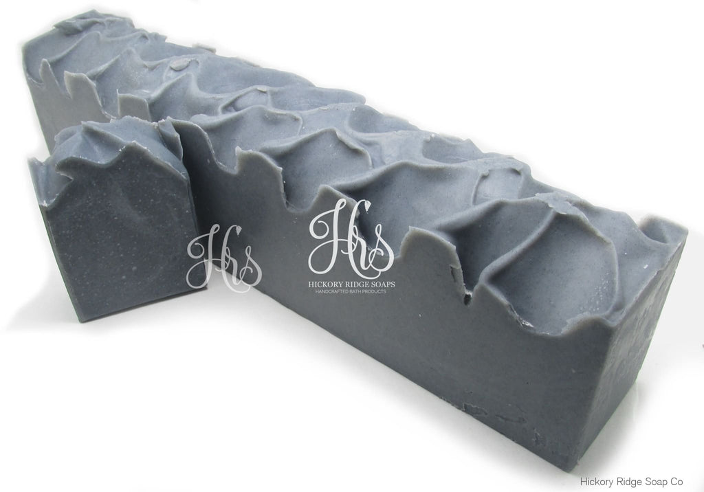 All Natural Activated Charcoal Coconut Milk Soap Loaf