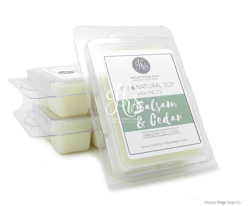 Balsam And Cedar Soy Wax Melts Melt