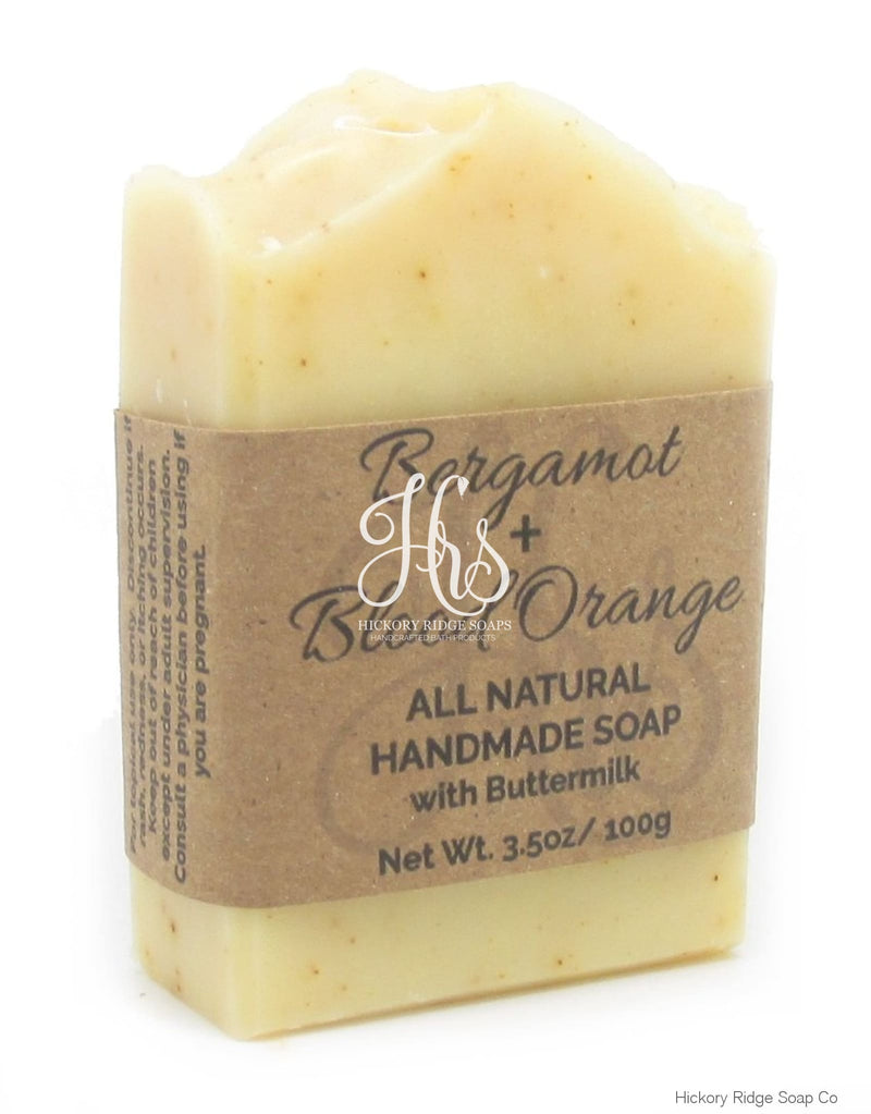 Bergamot And Blood Orange Buttermilk Soap