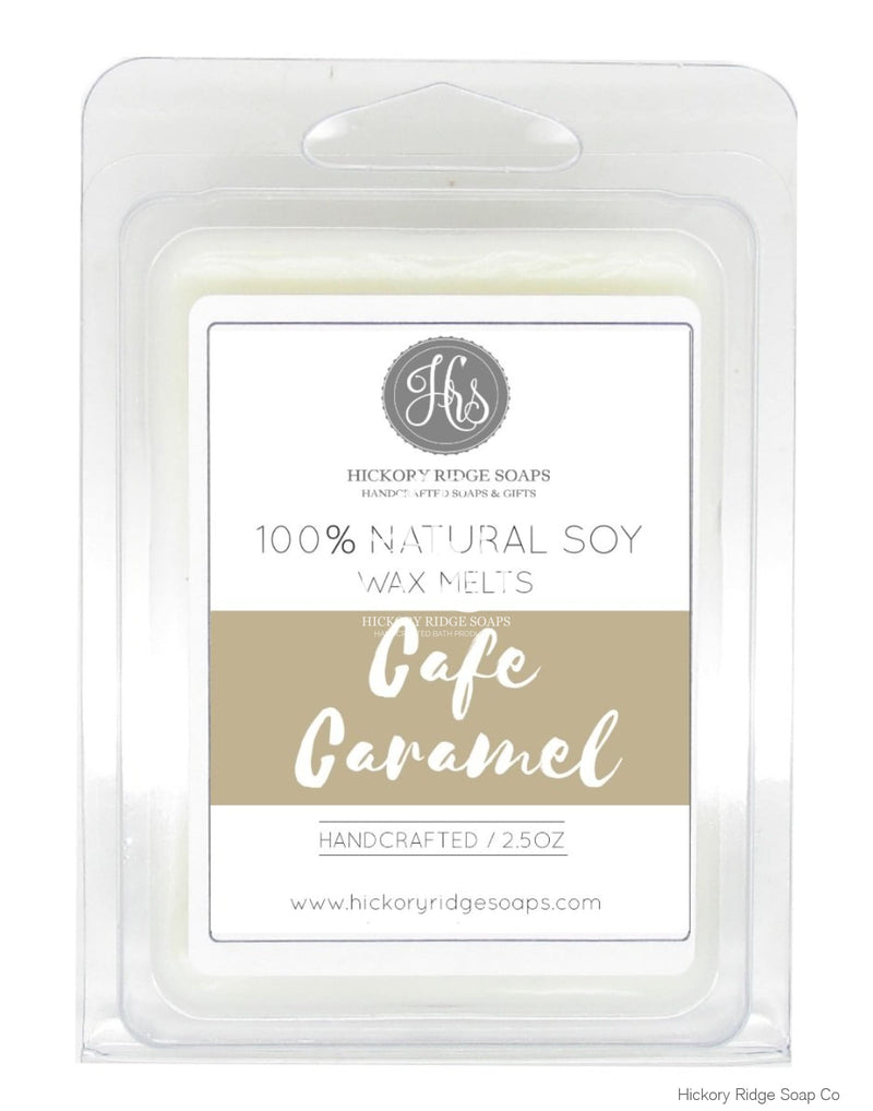 Cafe Caramel Soy Wax Melts Melt