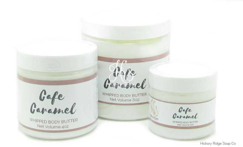 Cafe Caramel Whipped Body Butter Whipped Body Butter