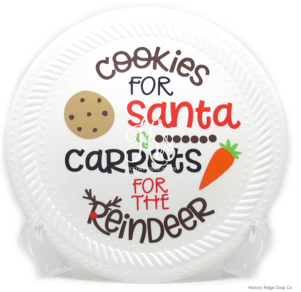 Cookies For Santa Plate Home