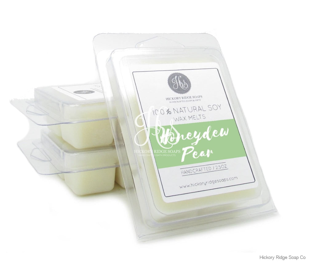 Honeydew Pear Soy Wax Melts Melt