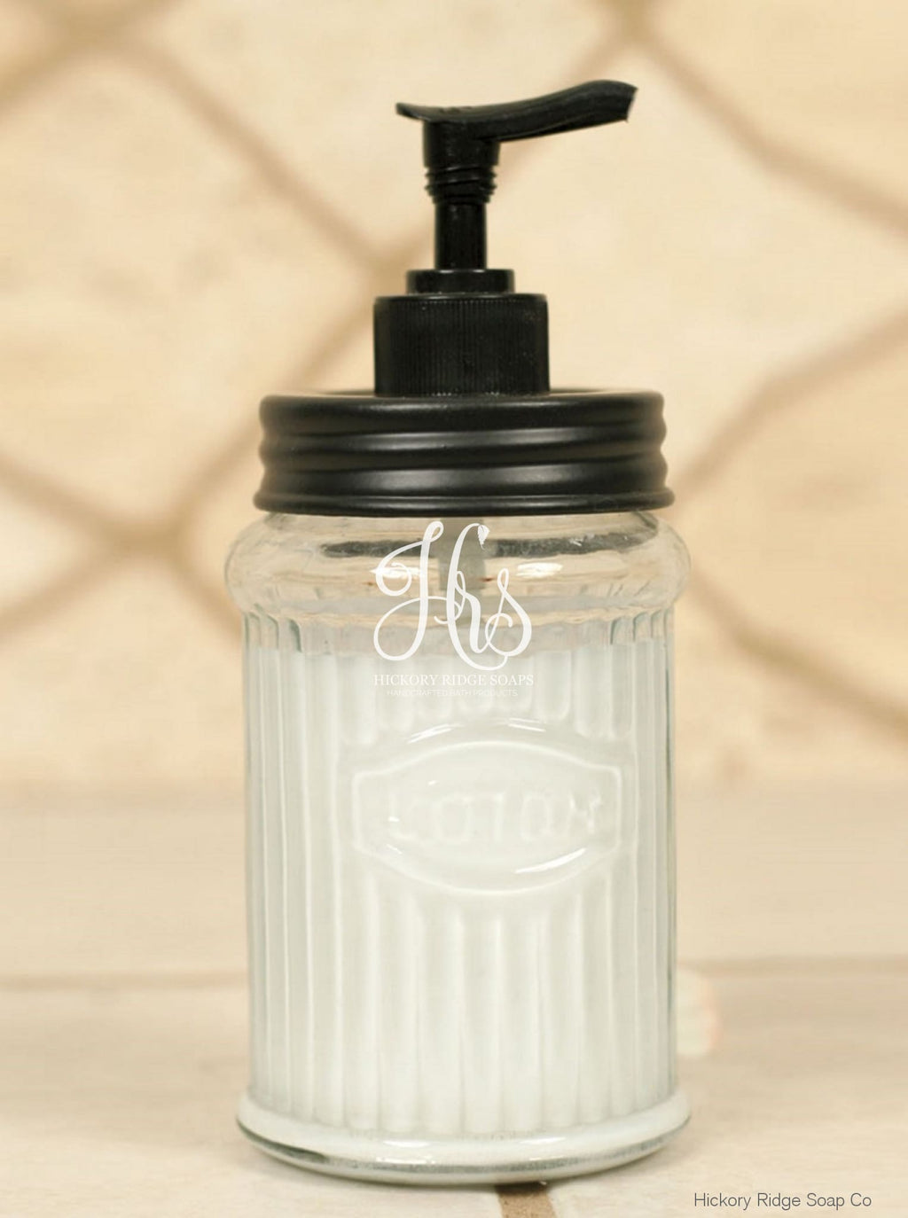 Hoosier Lotion Dispenser - Black Soap Dispenser