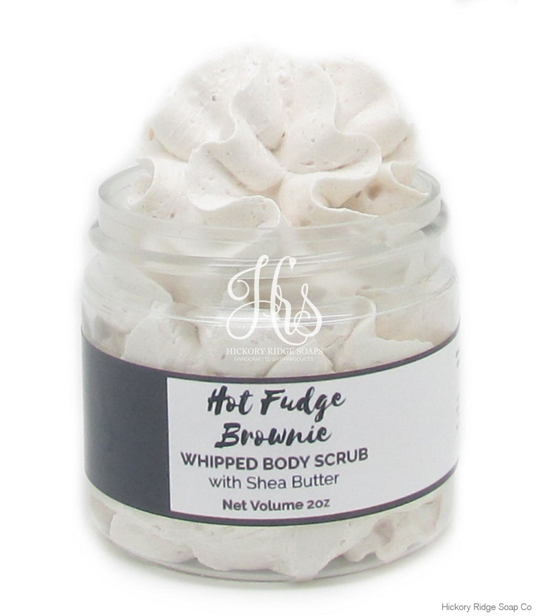 Hot Fudge Brownie Fluffy Whipped Soap