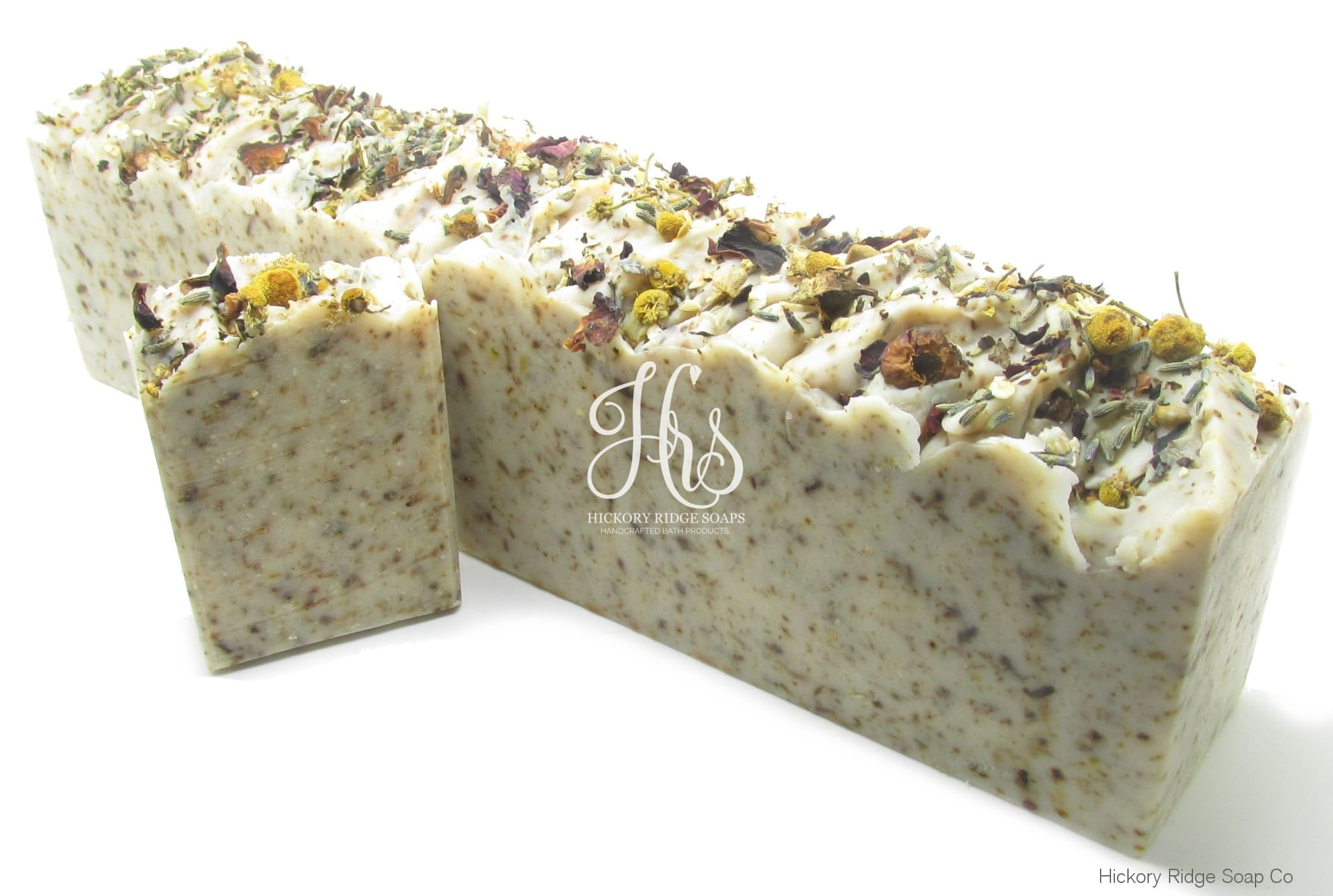 Lavender Bliss Herbal Bath Tea Goat Milk Soap Loaf