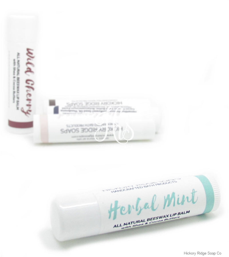 Natural Herbal Mint Lip Balm