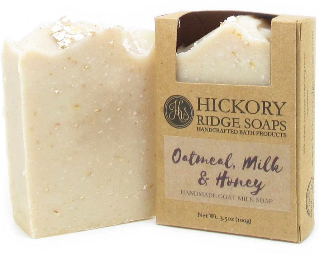 Oatmeal Milk And Honey Goat Soap