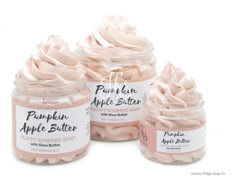 Pumpkin Apple Butter Fluffy Whipped Soap
