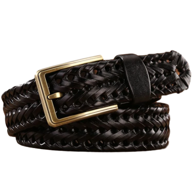 Midland Braided Leather Belt