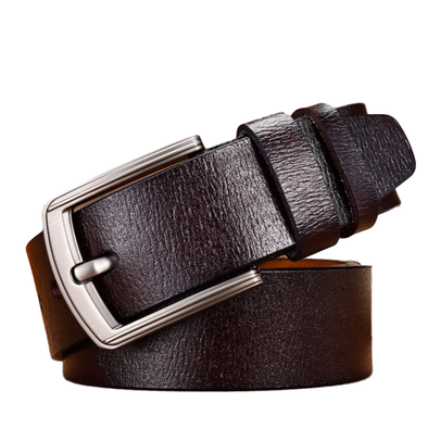Hawthorne Genuine Leather Ridged Belt