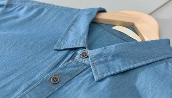 Birchwood Denim Button Up