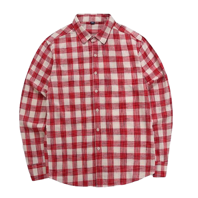 Midland Light Plaid Button Up