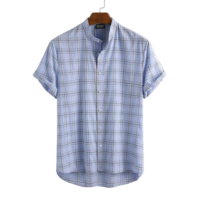 Summer Light Plaid Henley