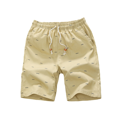 Osier Fish-Print Summer Shorts