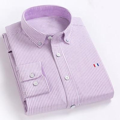 Hawthorne Striped Button Down