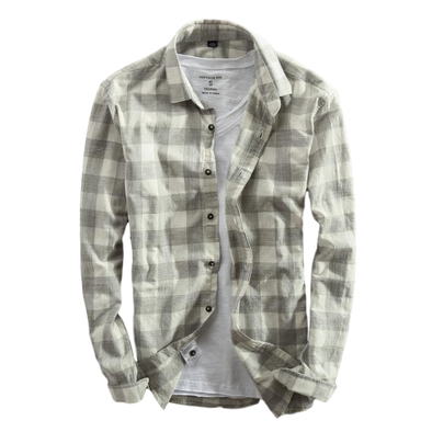 Birchwood Plaid Collared Button Up