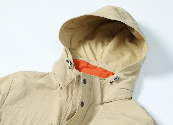 Osier Hooded Cargo Jacket