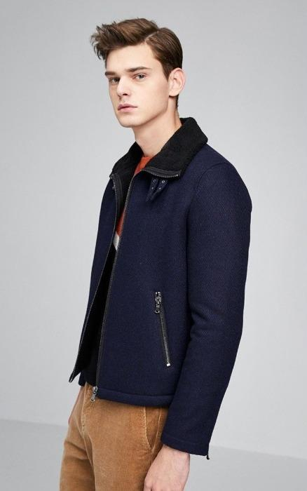 Rockland Wool Zip Up