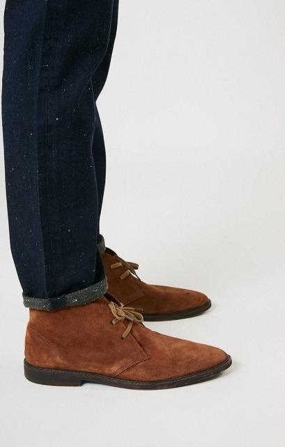 Birchwood Spotted Blue Jeans - Straight