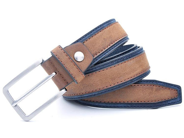 Osier Layered Leather Belt