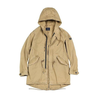 Osier Hooded Field Coat