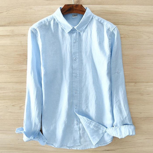 Birchwood Linen Button Up
