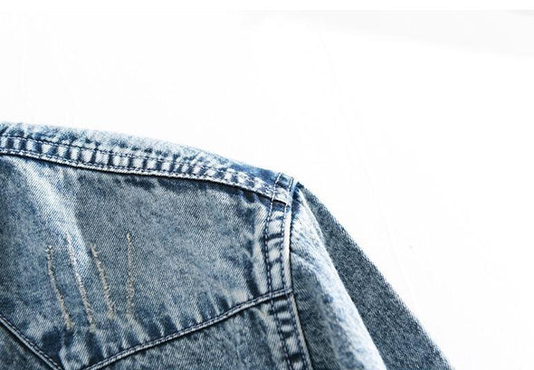 Rockland Stonewashed Denim Button Up