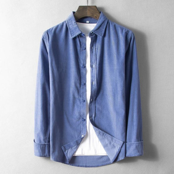 Rockland Corduroy Light Button Up