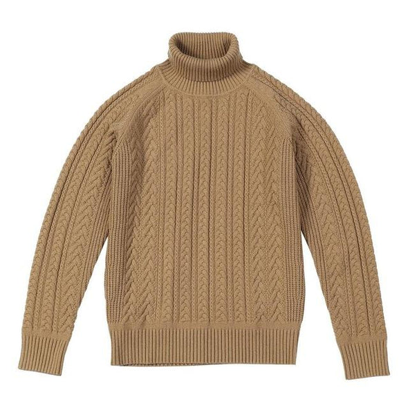 Rockland Cable-Knitted Turtleneck